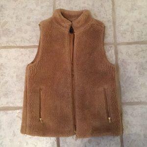 J. Crew Plush Fleece Excursion Vest (XS)